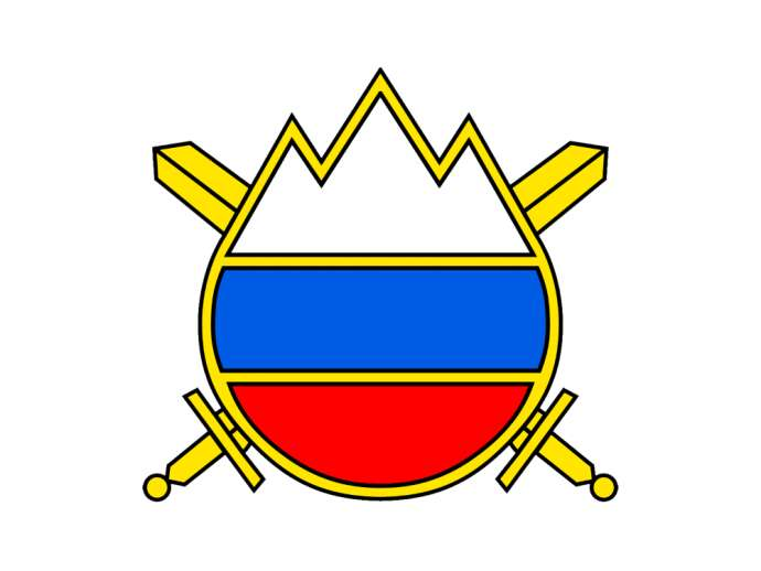 The symbol of the Slovenian Army