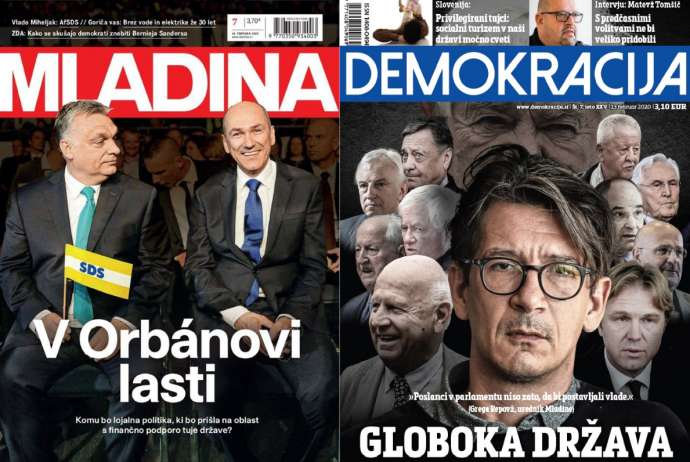 What Mladina & Demokracija Are Saying This Week: No to SDS Govt vs Left's Violent Streak
