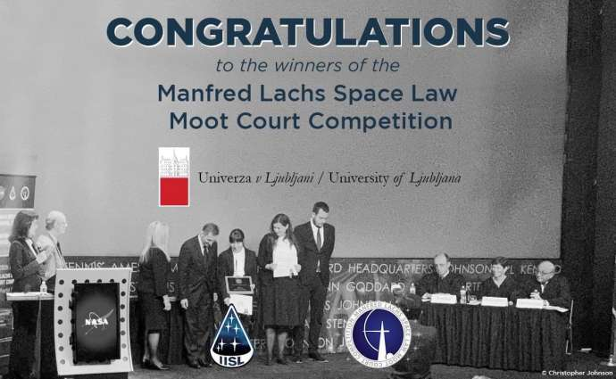 Ljubljana Law Students Win Manfred Lachs Space Law Moot Court