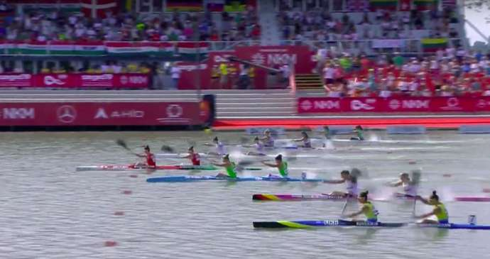 Canoe Sprint: Slovenian Women Take Silver in 200m (Video)