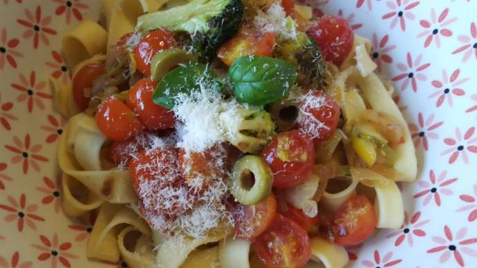 Slovenian Recipe of the Week: Garden Delights With Pasta