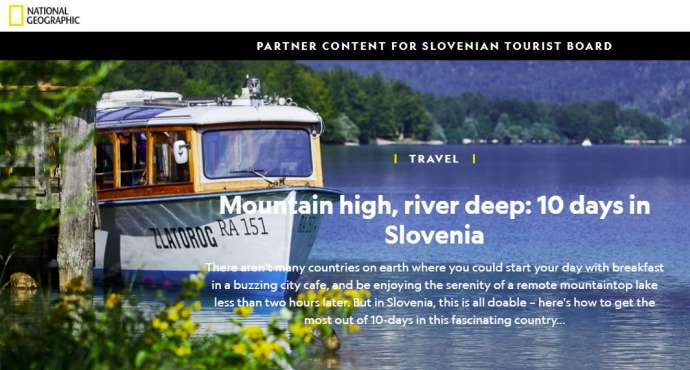 National Geographic's 10-Day Road Trip in Slovenia