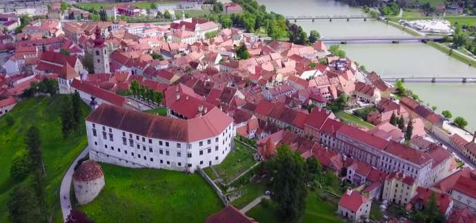Ptuj from the Air