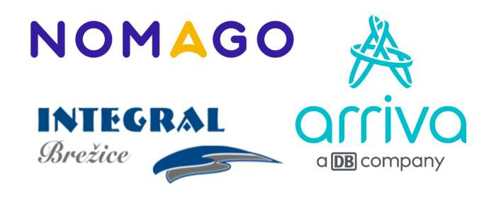 The logos of the firms involved