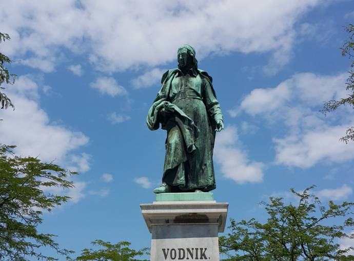 June 30 in Slovenian History: Valentin Vodnik's Statue Unveiled