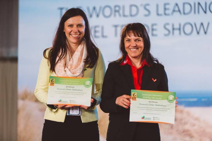 Slovenia Picks Up Best of Europe Sustainable Destination Award at Berlin ITB