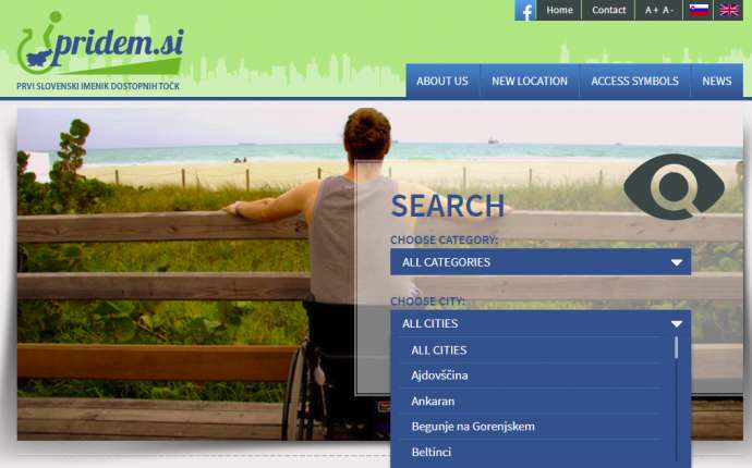 Pridem.Si – A Resource for Travellers with Disabilities in Slovenia