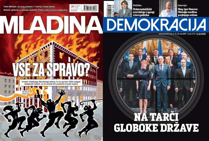 What Mladina & Demokracija Are Saying This Week: Covid Communication vs Janša & State Prosecutor General