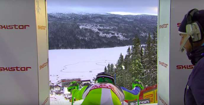 Alpine Skiing: Hadalin Wins Silver in Sweden (Videos)