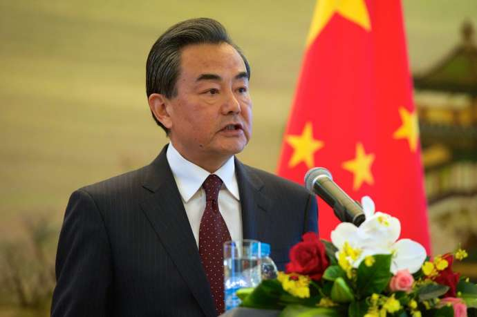 Foreign Minister Wang Yi in 2015