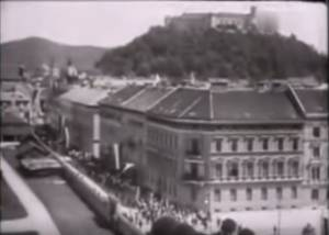 Ljubljana as It Once Was: The Historic Centre in 1909 (VIDEO)
