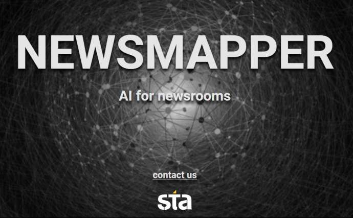 STA's AI News Tracking Tool Makes EU Best Innovations List