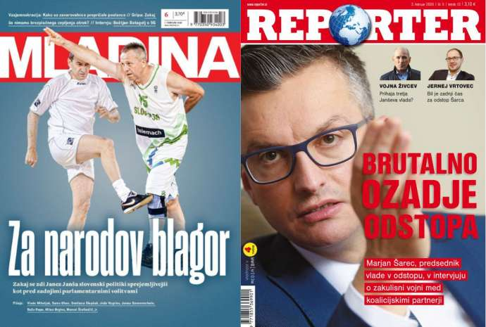 What Mladina & Reporter Are Saying This Week: Politics Revolves Around Janša