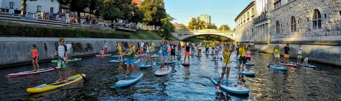 100 Suppers on the River Ljubljanica 2017