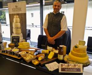 The Slovene Cheese Festival 2019 was brimming with enticing cheese displays
