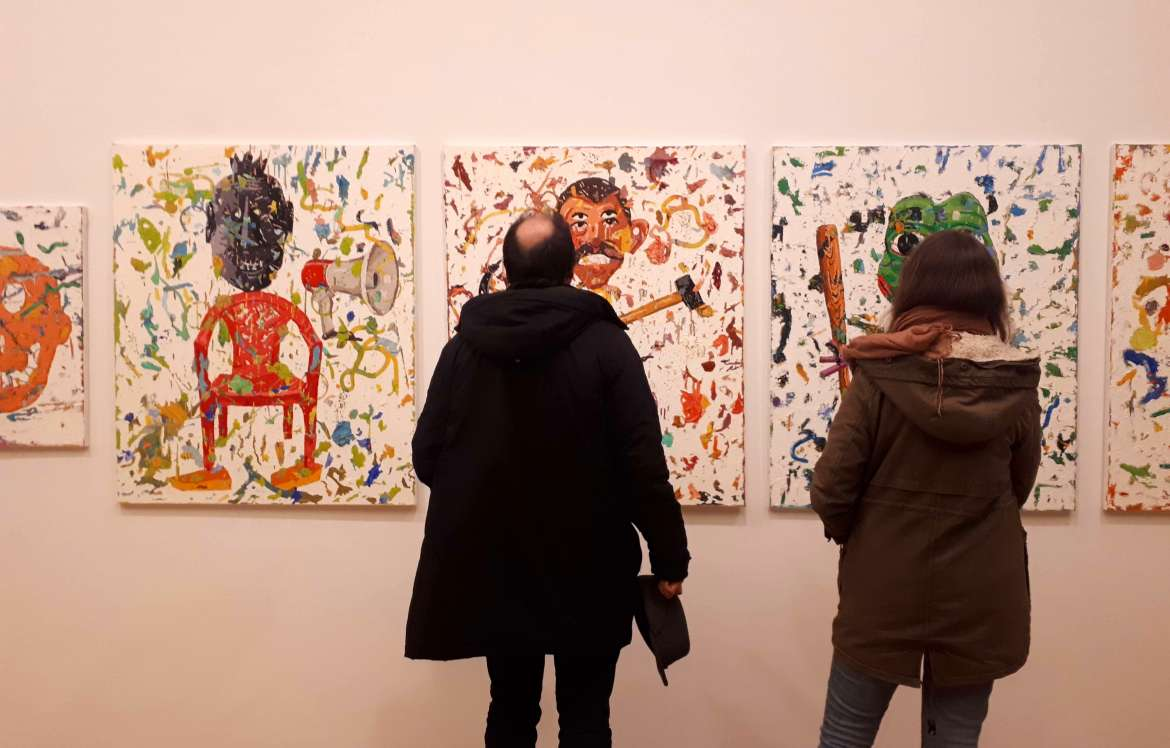 ljubljana s modern gallery highlights recent painting in slovenia until march 31 2019