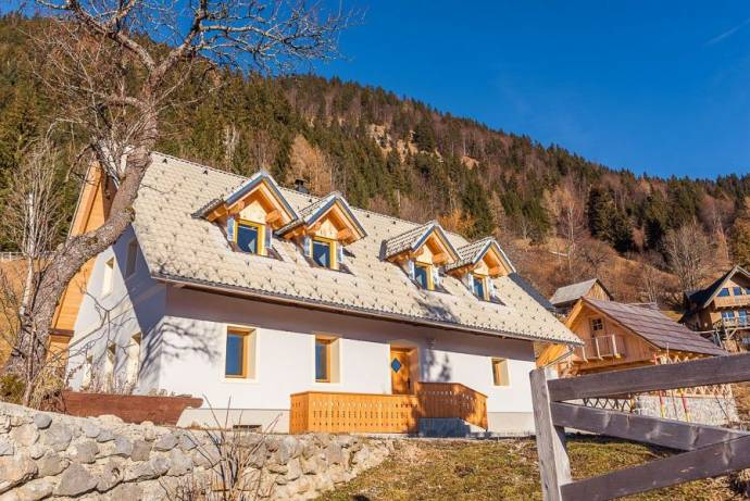 Property of the Week: Alpine Farmhouse with Garden in Podjelje