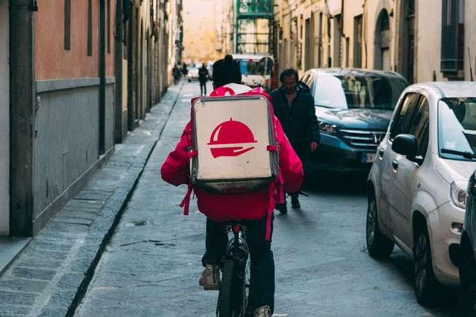 Food Delivery Platforms Booming During Lockdown