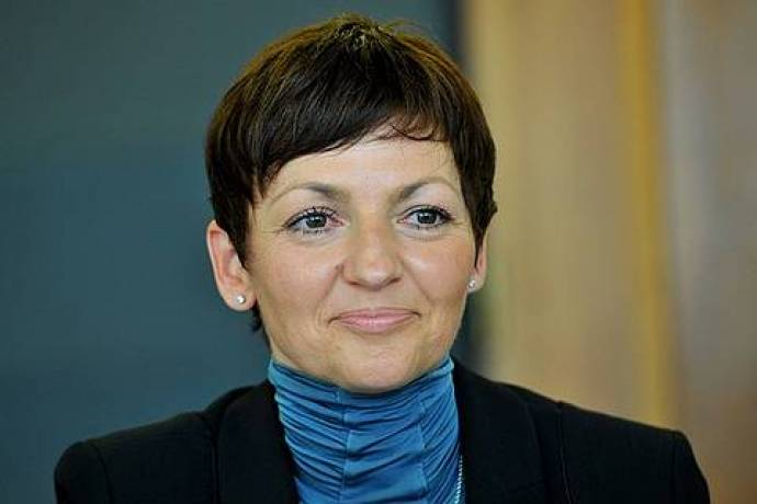 Dr. Maja Makovec Brenčič, the Minister of Education, Science, and Sport