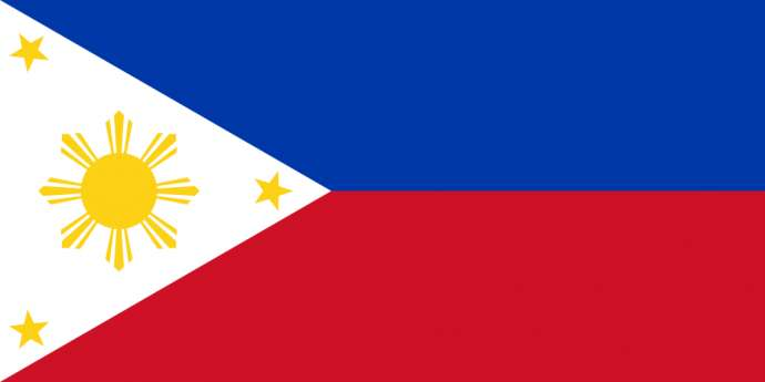 The flag of the Philipinnes