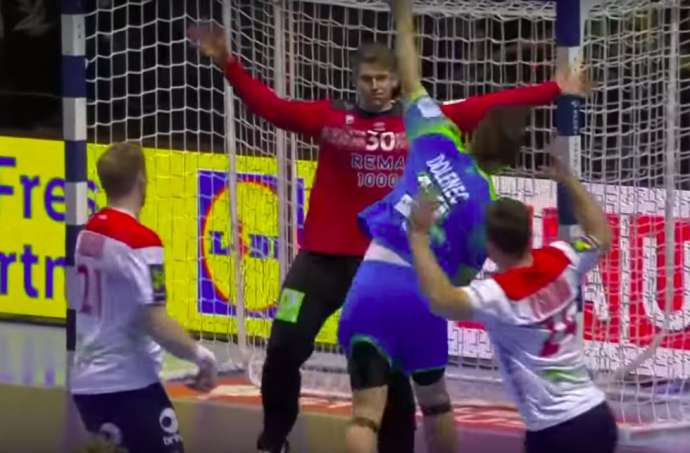 Handball: Slovenia Lose to Norway, 4th in Euro Championship (Video)