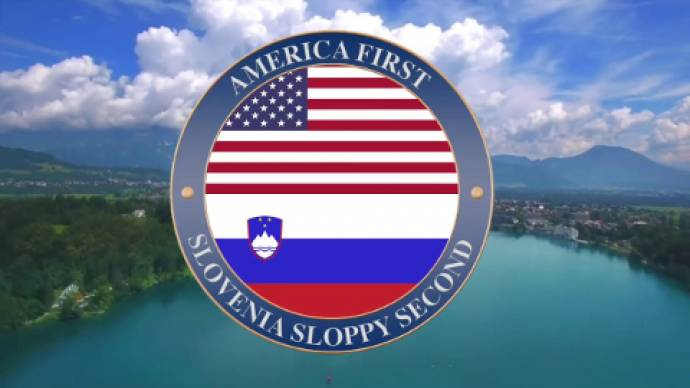 America first... Slovenia second
