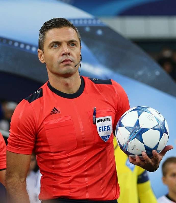 Football: Damir Skomina Named World's Best Referee