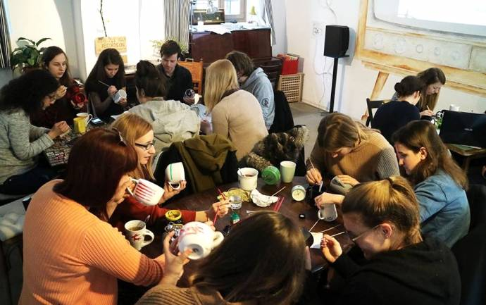 Café of the Week: Ziferblat, the Pay by the Minute Lounge and Activity Centre